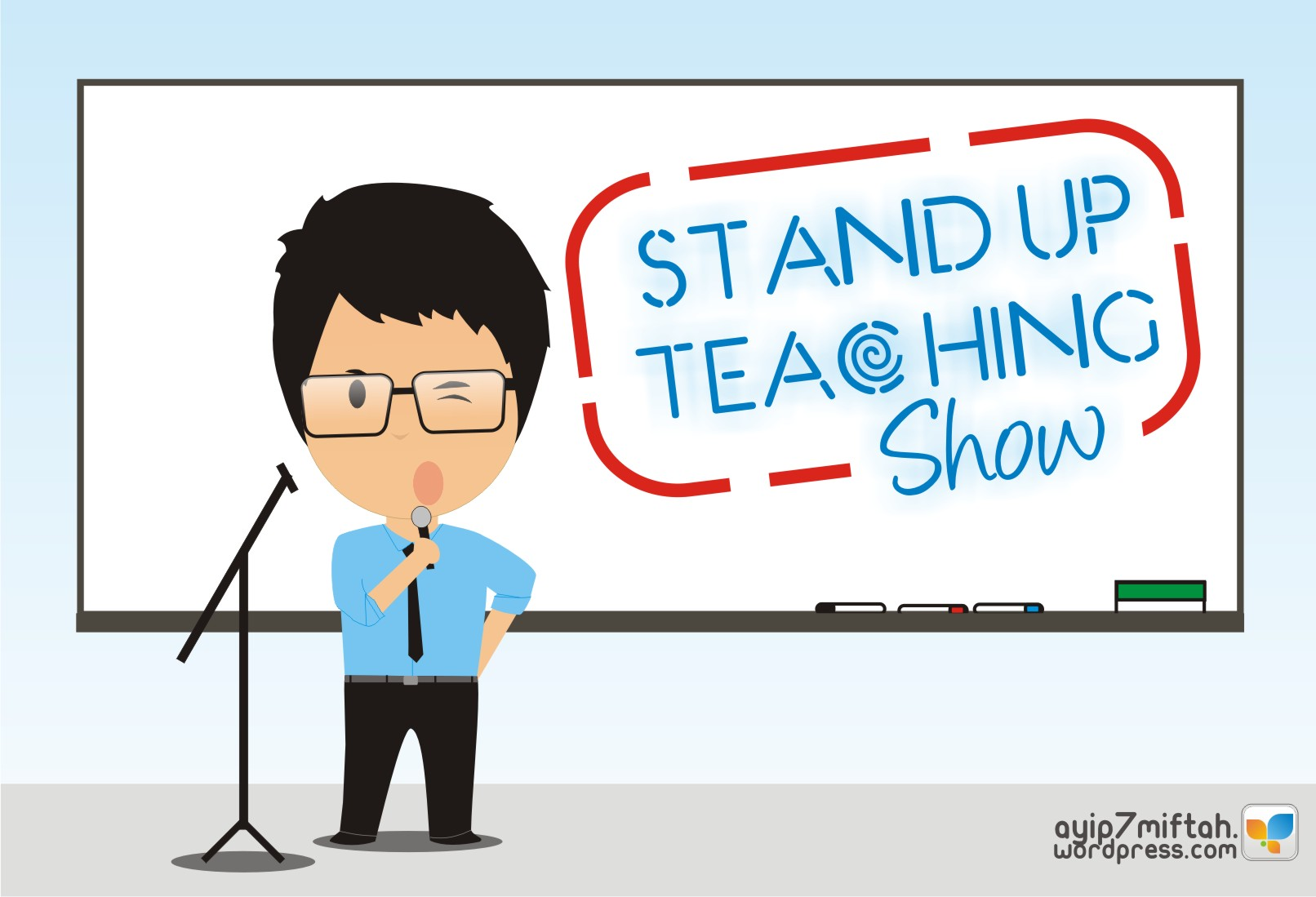 Eksperimen 024 Stand Up Teaching Show Berbagi Inspirasi