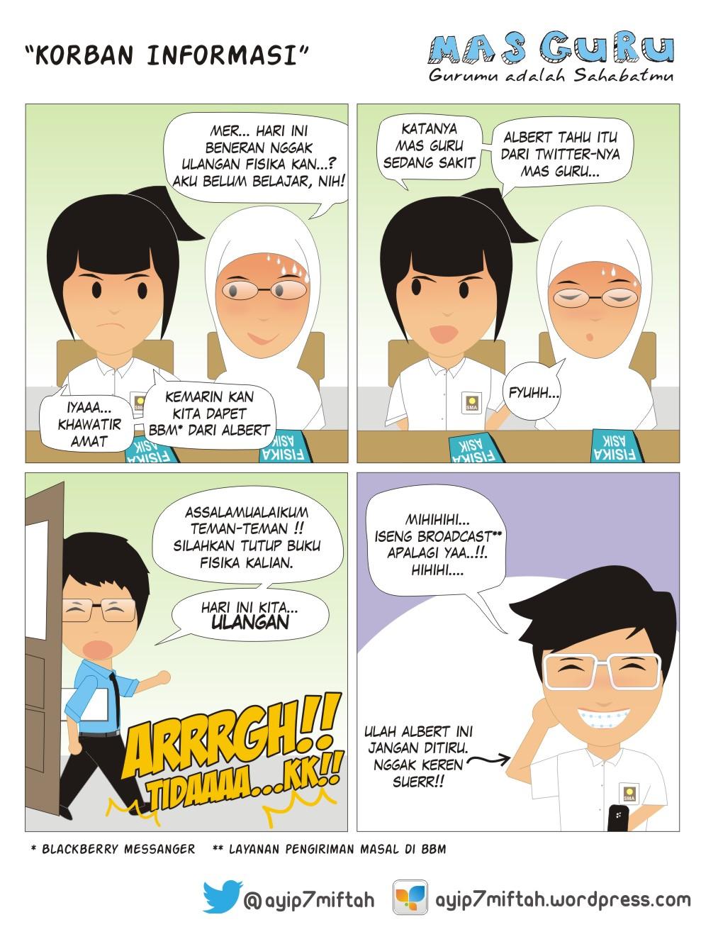 Komik Strip Berbagi Inspirasi
